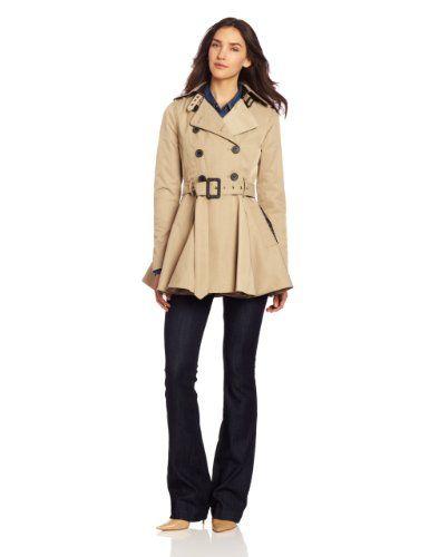 Amazon.com: BCBGeneration Womens Nolita Trench: Clothing