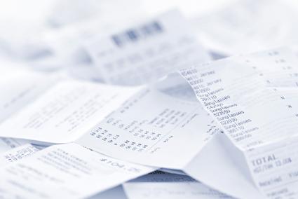The Great Rebate App Receipt Checklist Receipts, Small