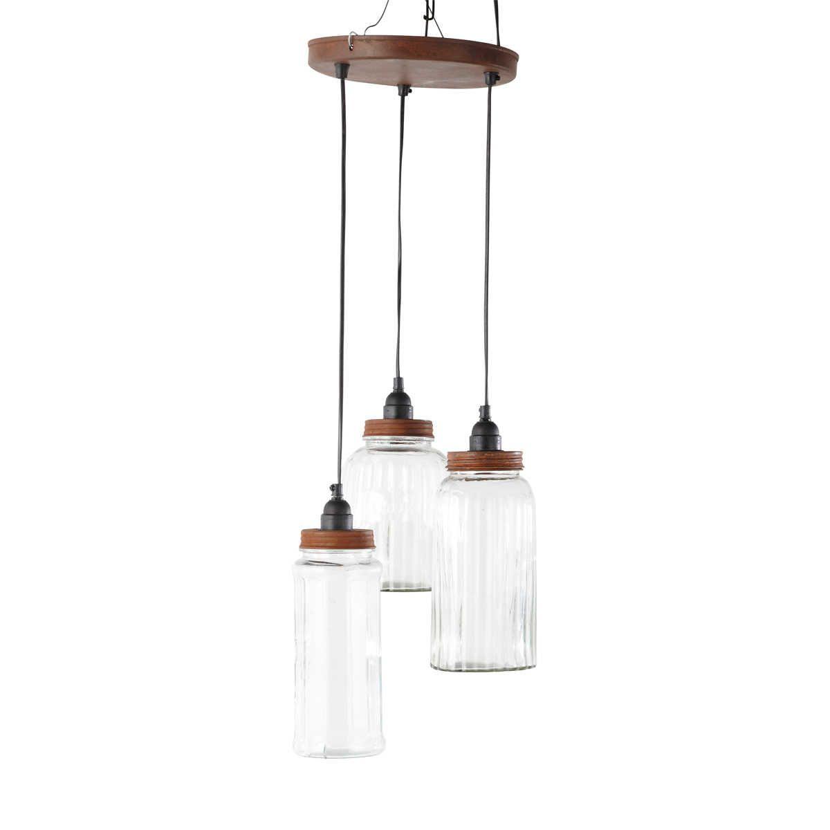 Lámpara de techo tarros Augustine