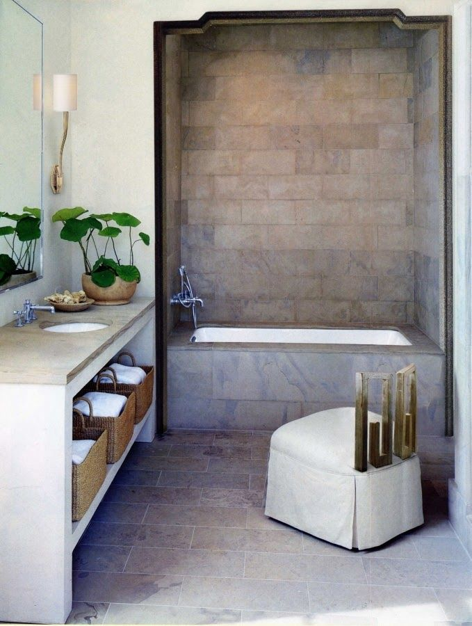 Simply Beautiful Bathrooms: Simply Beautiful Greige And Gold Bath..