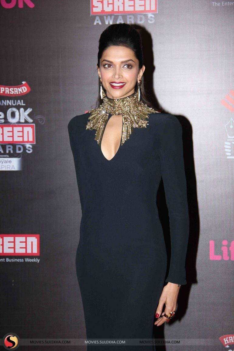 Deepika Padukone At Lifeok Screen Awards Jan 2014 Sonam Kapoor Fashion Deepika Padukone Fashion