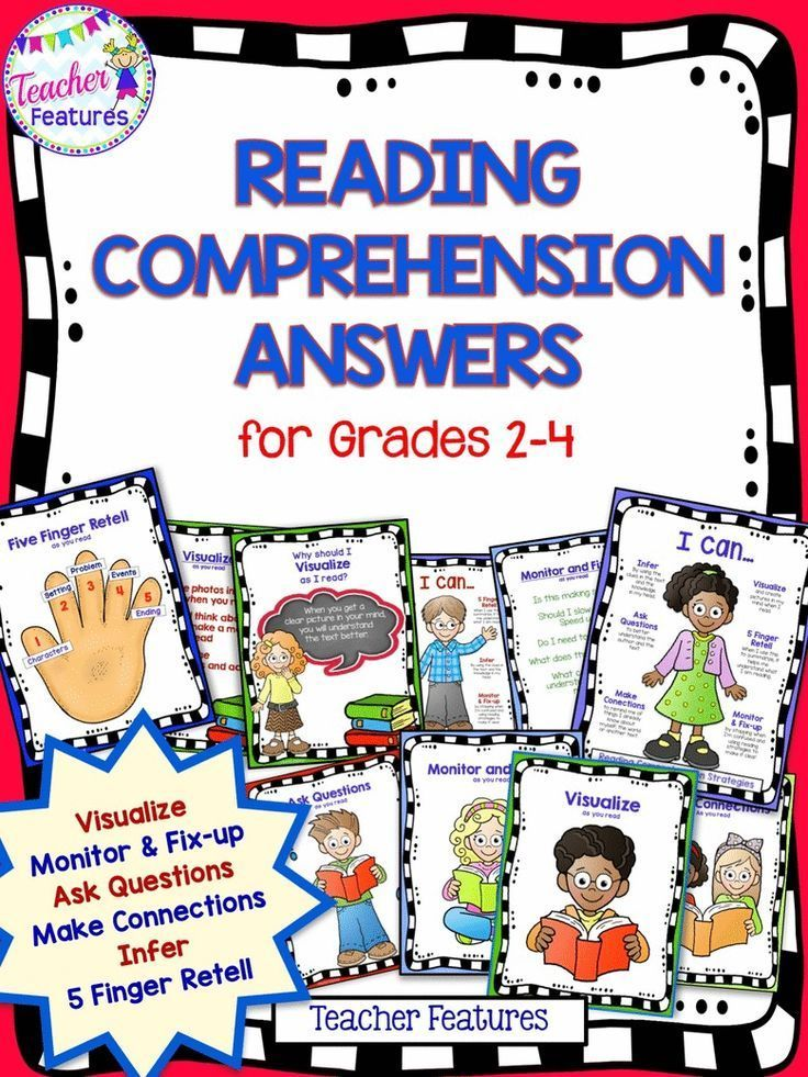 Reading Comprehension Strategies Posters Reading Comprehension