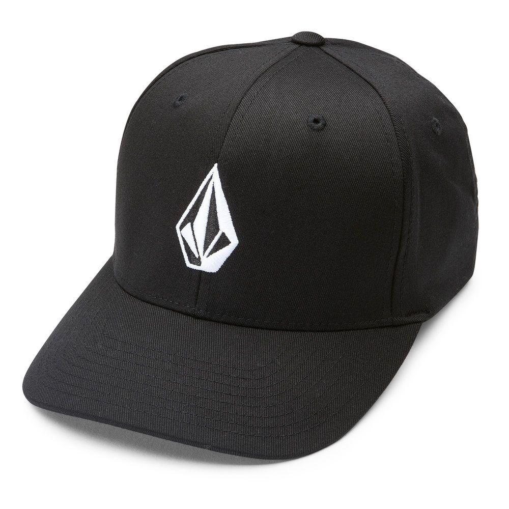 Gorra Volcom Full Stone Xfit Flexfit Black (Talla S M) Street Skate Urban 16e67d057ce