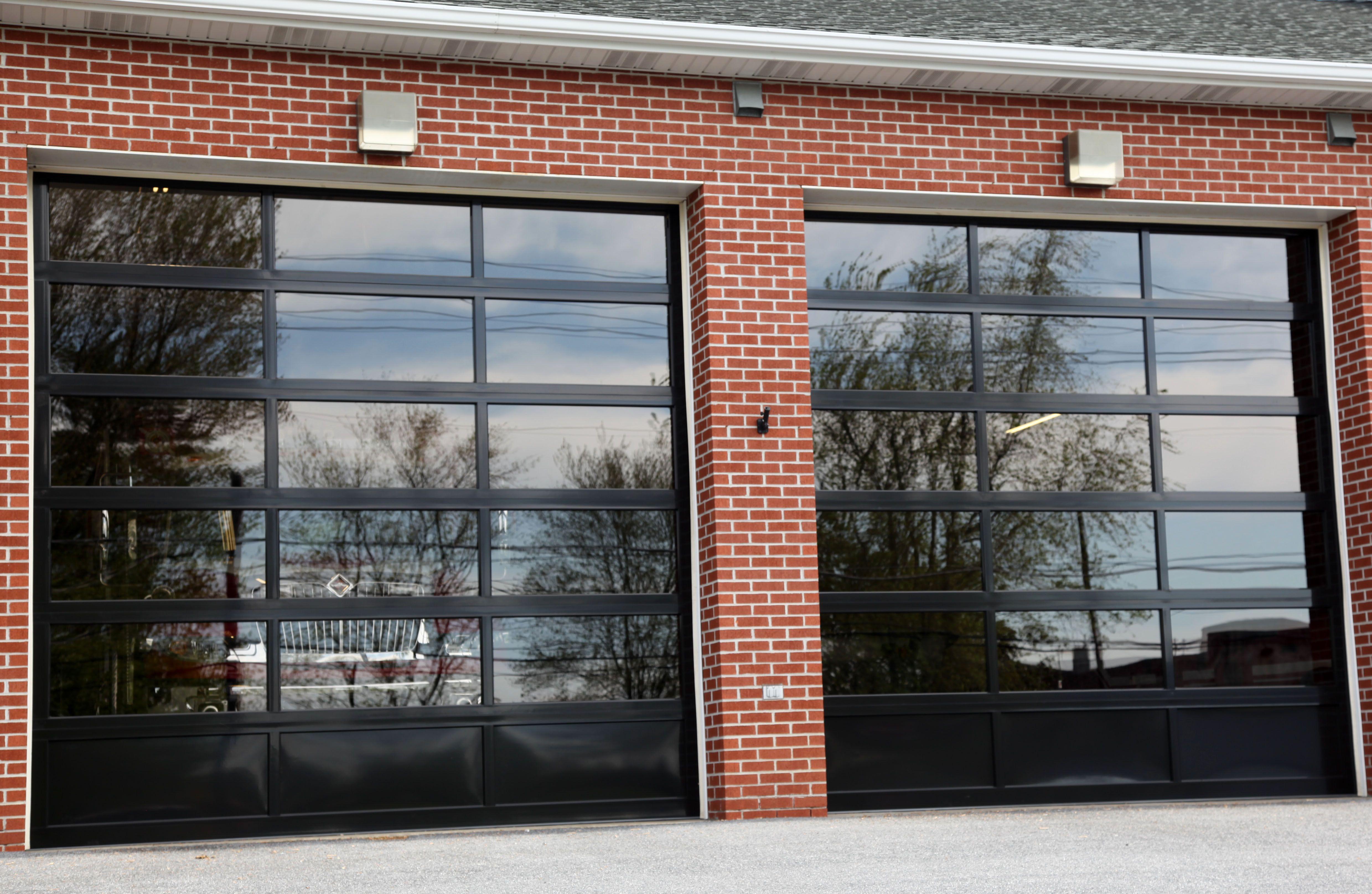 Commercial Doors For Fire Dept Aluminium Garage Doors Garage Doors Commercial Garage Doors