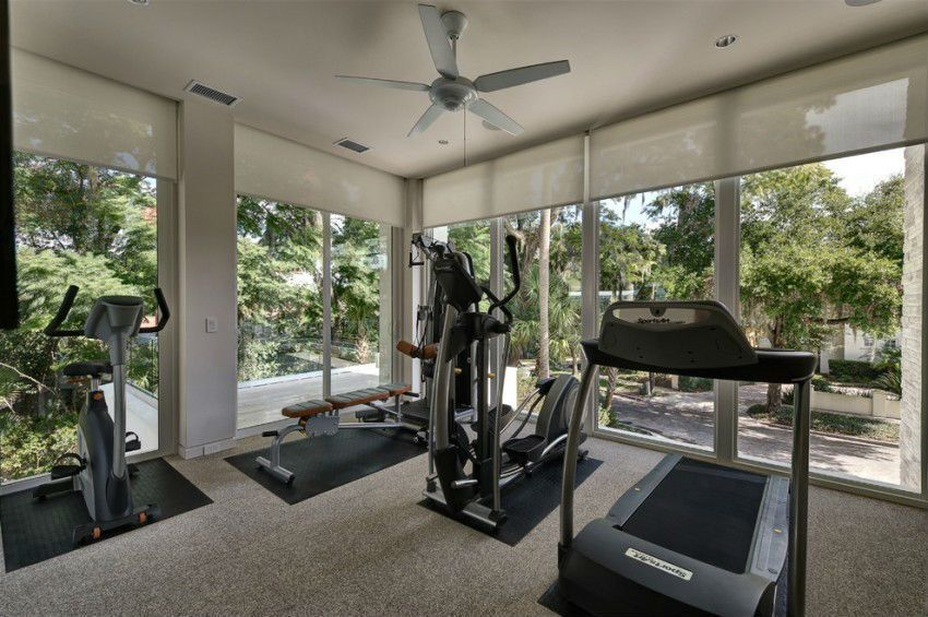 Home Gyms With Windows Google Search Gym Room At Home Gym Room Home Gym Design