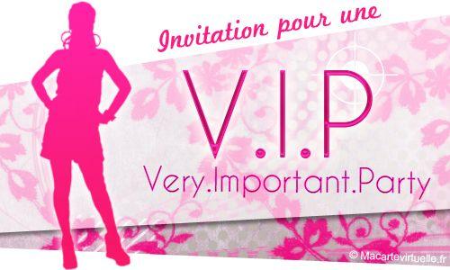 Populaire texte invitation surprise | Envoyez une e-card Invitation Very  EZ76