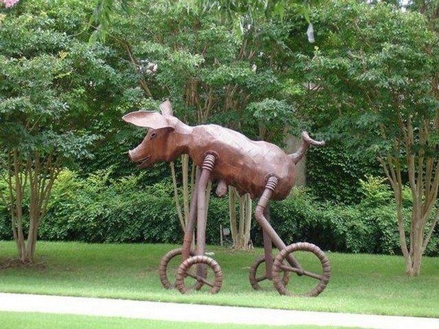 As Esculturas Mais Estranhas Espalhadas Pelo Mundo