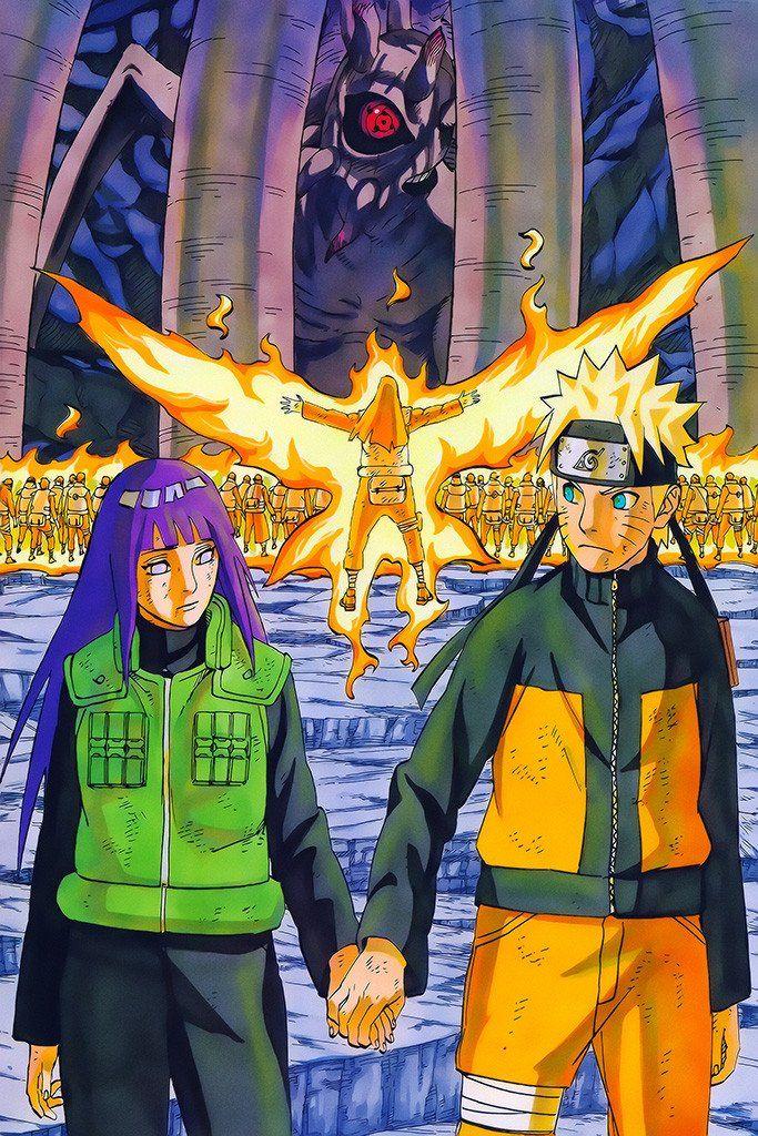 Naruto Shippuden Anime Naruto Hinata Poster