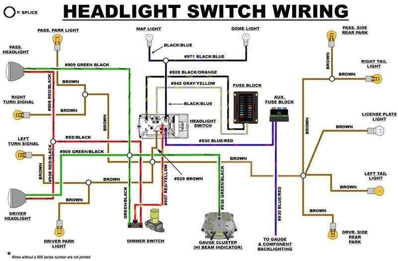 Led Headlight Wiring Diagram For Motorcycle from i.pinimg.com