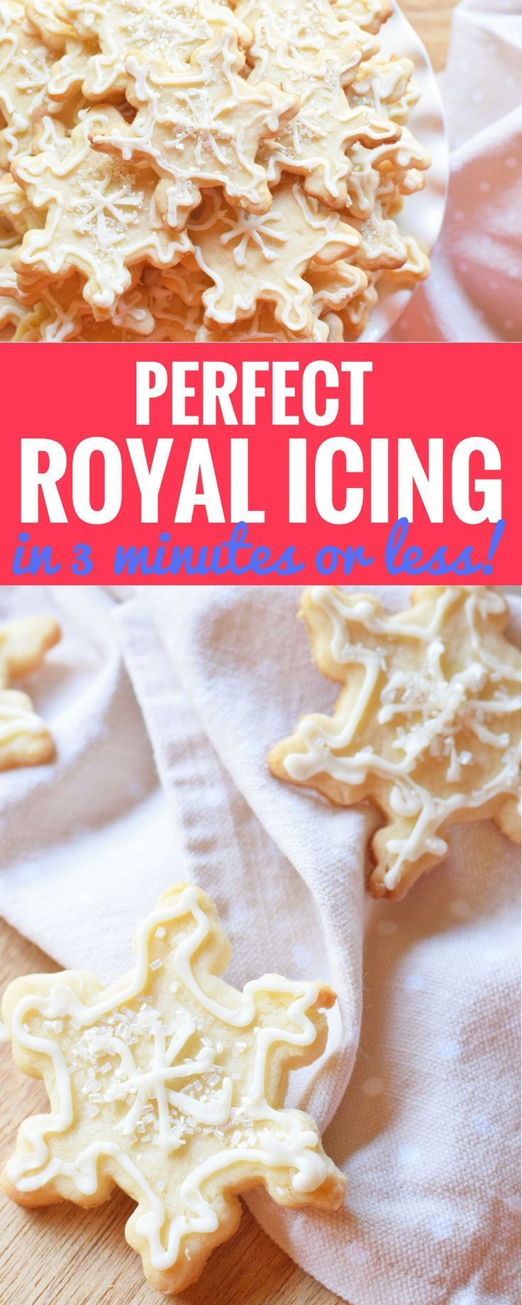 How To Make Perfect Royal Icing In 3 Minutes