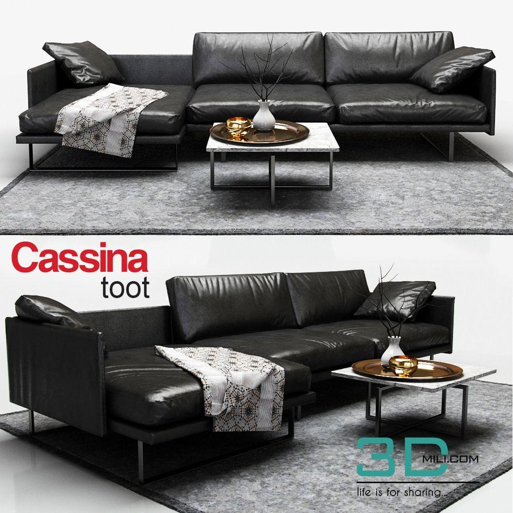 305 Sofa Cassina Toot 3d Model 3dmili 2020 Download 3d Model Free 3d Models 3d Model Download In 2020 Furniture Furniture Sofa Set Sofa Set