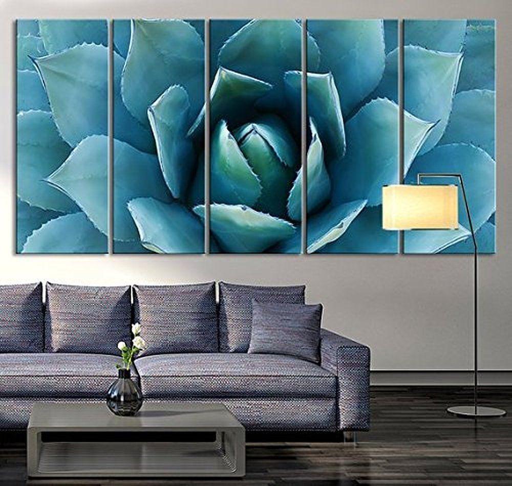 amazon tanda large wall art blue agave canvas prints agave