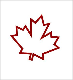 Red Maple Leaf Outline Tattoo Stencil Canada Tattoo Maple Leaf Tattoos Canadian Tattoo