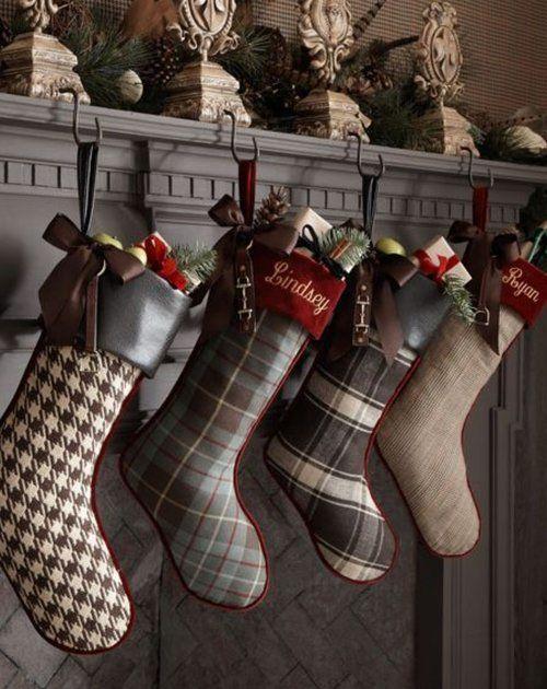 50 Beautiful Christmas Stocking Ideas And Inspirations Christmas
