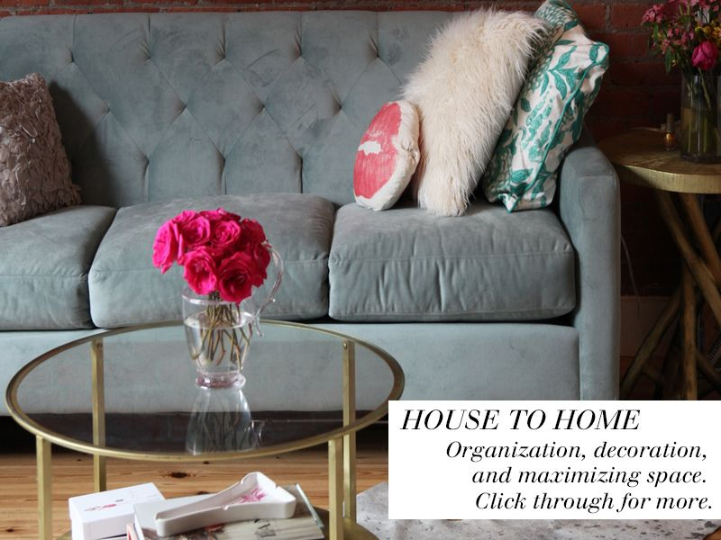 Nicolette Mason: {INTERIORS} From House To Home