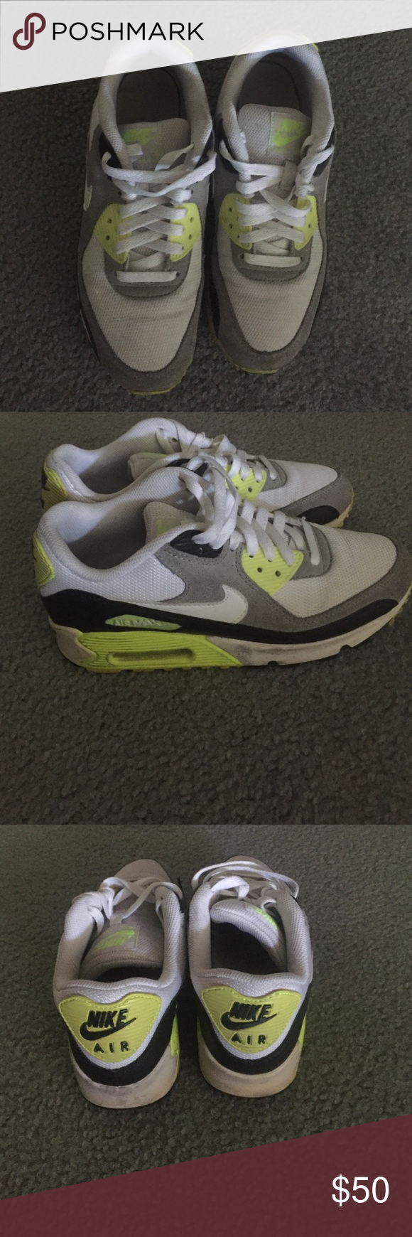 Nike air max Nike air max size 38, used a couple times, sole a little dirty but easy to clean Nike Shoes Sneakers