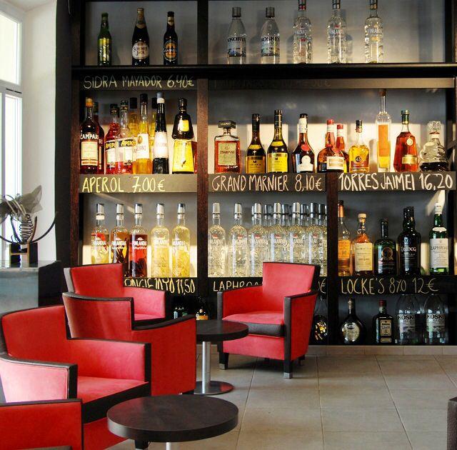 Vintage Bar Wallpaper Decoración Cafetería Decoración