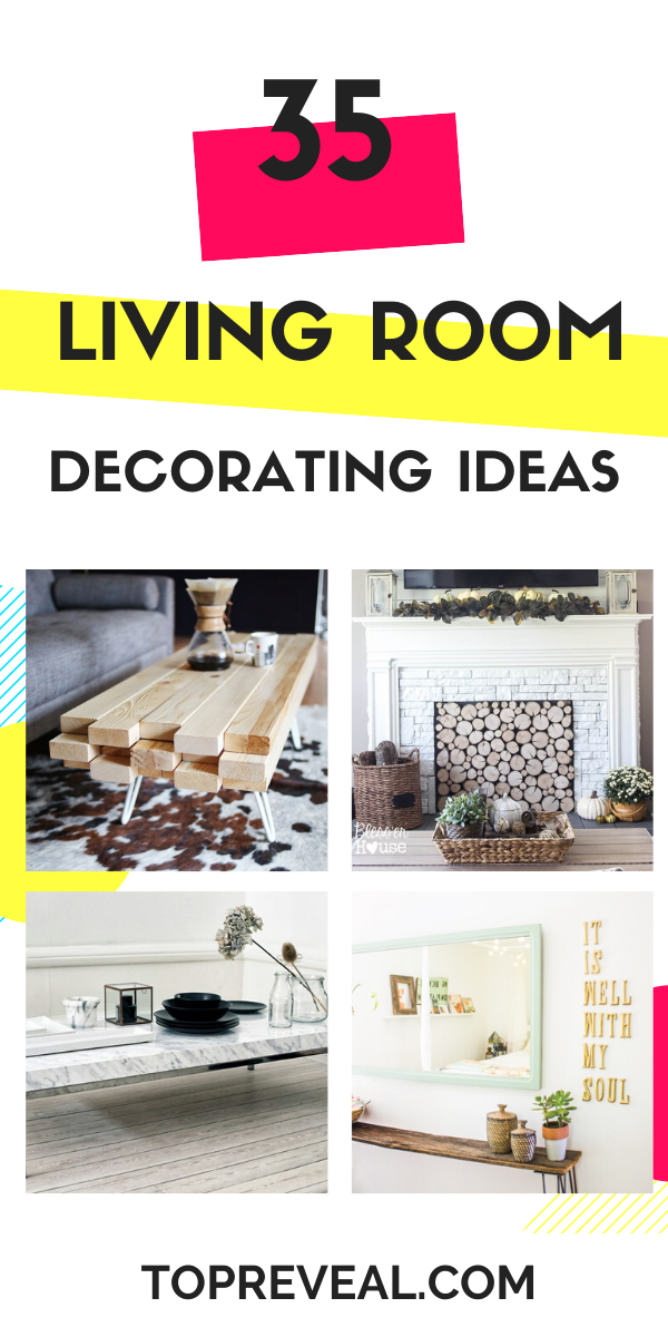 Photo of 35 DIY Living Room Decorating Ideas