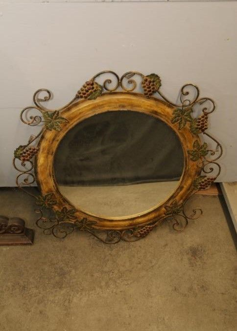 Mirrors Incl Some In Gilt Frames Beveled Glass One With Decorative