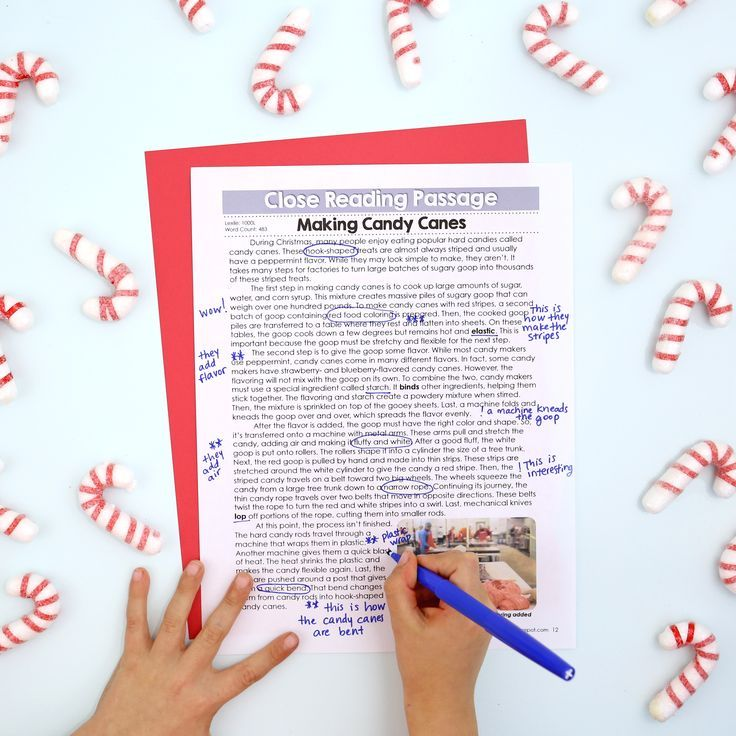 Christmas Close Reading Passages, Text-Dependent Questions ...