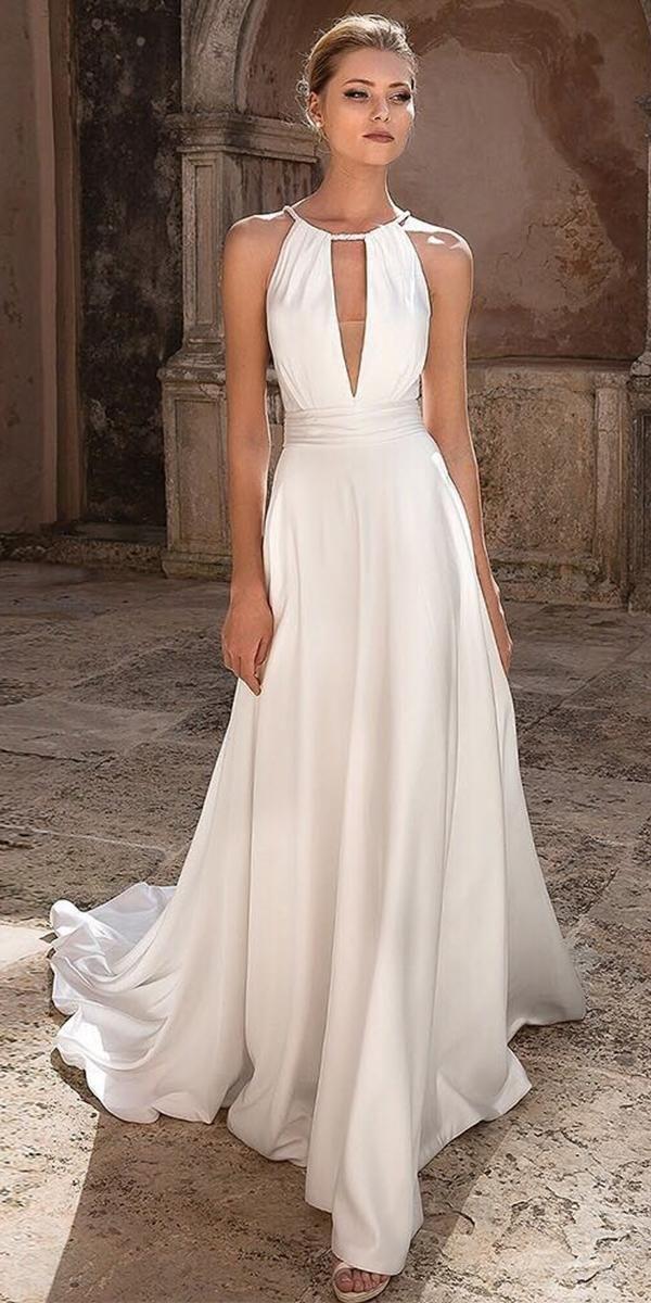 Photo of 21 Top Greek Wedding Dresses For Glamorous Look | Wedding Forward