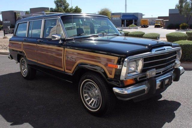 Very Rare 1988 Jeep Wagoneer Limited 4x4 Jeep Wagoneer