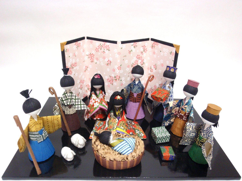 Japanese asian nativity — pic 4