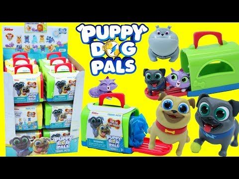 Puppy Dog Pals Blind Bags Full Case Rolly Bingo Hissy Complete Set Dog House Disney Surprise Toys Youtube Dogs And Puppies Puppies Blind Bags