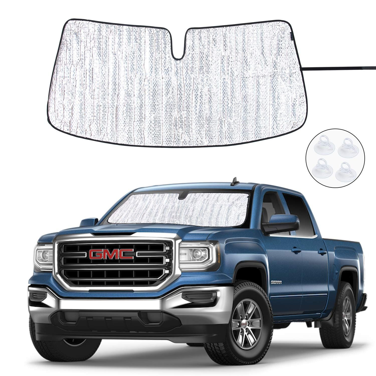 Front Windshield Sunshade With Uv Ray Reflector This Sunshade Fit