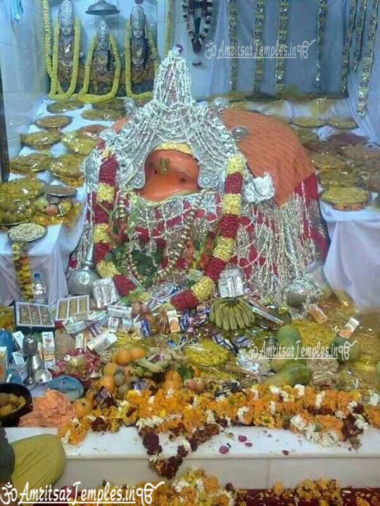 Lord Hanuman Pictures Bada Hanuman Temple Amritsar Famous
