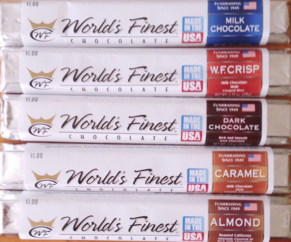 World's Finest Chocolate Candy Bars 15 Chocolate bars- Mix ...