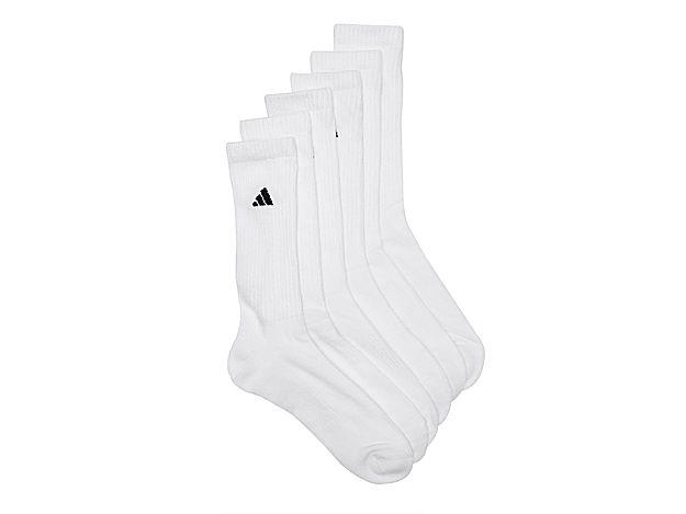 f56fd5ee6 Men Climalite Compression Men's Crew Socks - 6 Pack -Black ...
