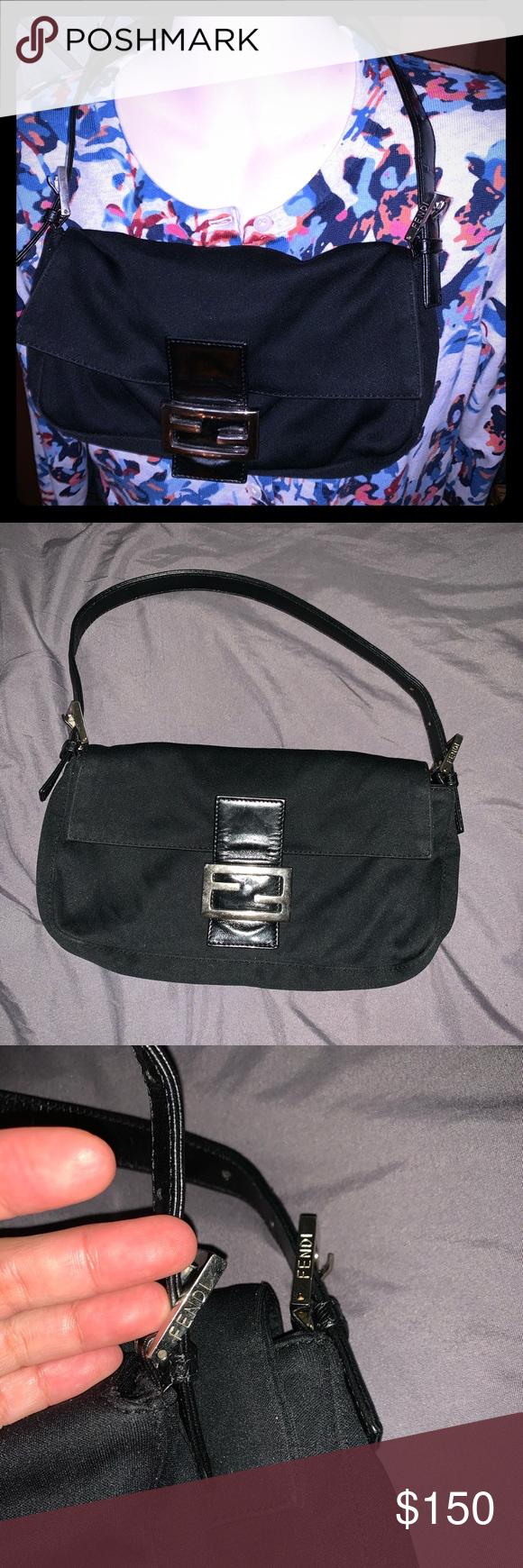 Fendi Small Baguette Handbag Shoulder