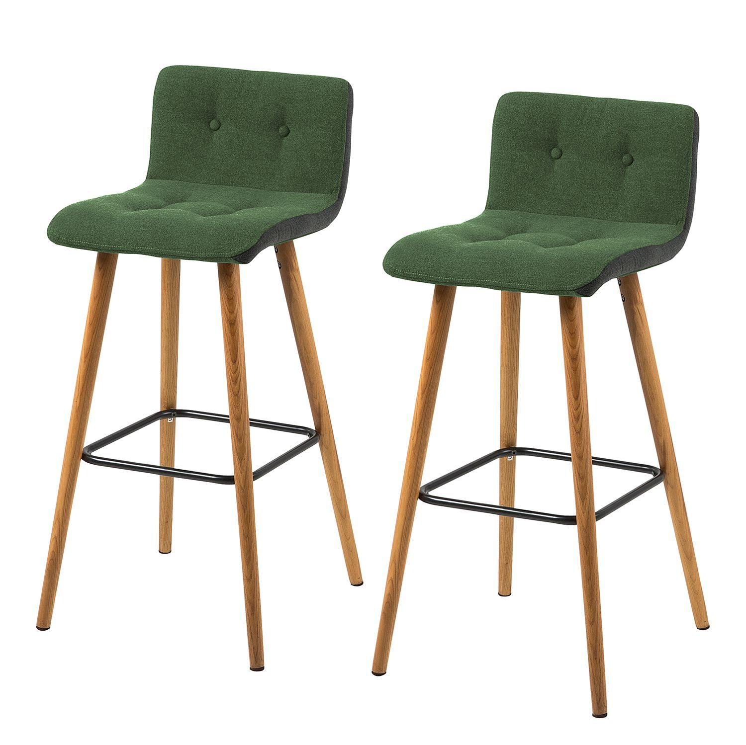 Songmics Lot De 2 Tabourets De Bar Stool Pin By Ladendirekt On Bar Möbel Bar Stools Stool Bar