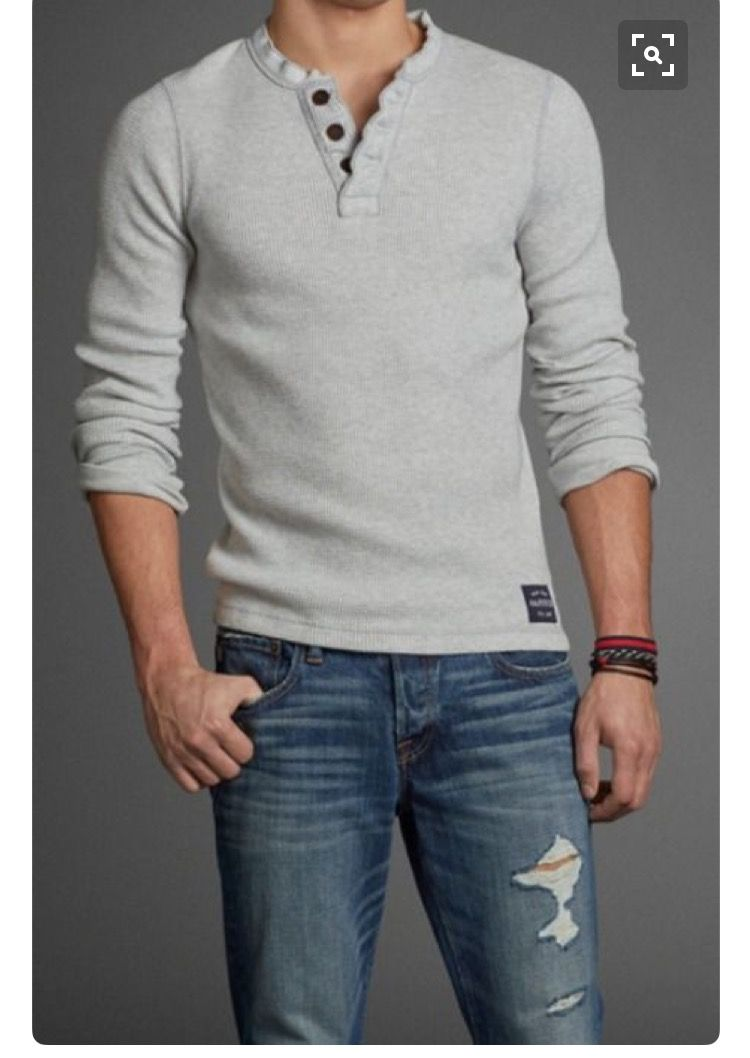 Stitch Fix - Like the knit of this shirt and the buttons at the neck.