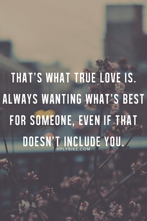 True Love Is Selfless Love   Putting The Needs Of The Other Person Ahead Of  Your
