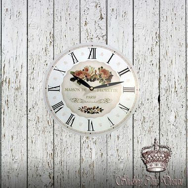 O Relógio De Parede Maison Paris é o item que faltava para aumentar o clima de romance daquele comodo especial. Com um tema delicado e romântico pode transformar sua sala de estar em um ambiente ainda mais aconchegante
