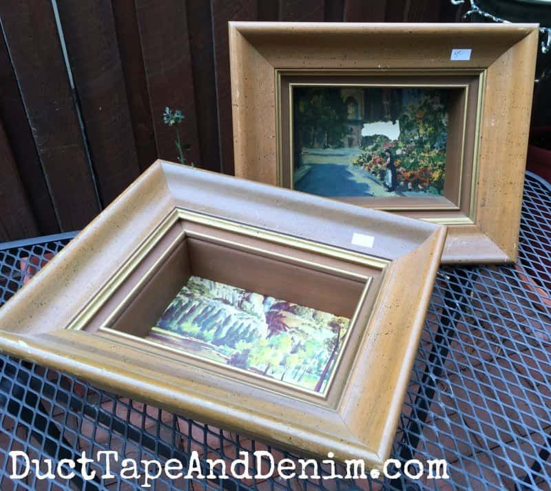 How To Paint Shadow Box Frames To Display Vintage Collections Shadow Box Frames Shadow Box Box Frames