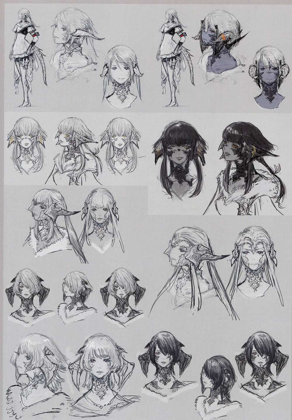 The Art of Ishgard (Sketches) in 2019 | omam  | Final fantasy