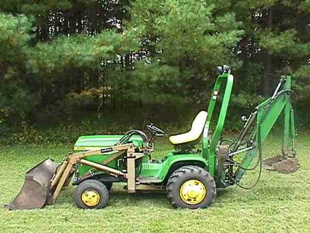 Jd Tractor Forks : Fire up your john deere lawn tractor to get ready for