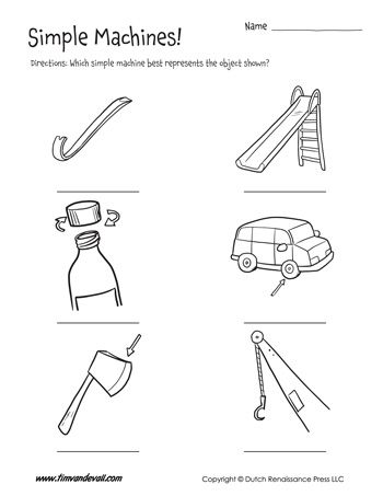 Which simple machine best represents the object shown? The low ...