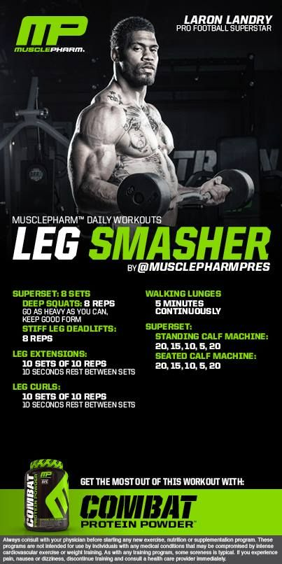 how to add muscle mass to legs