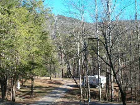 There are two campgrounds to choose from in Cheaha State Park.