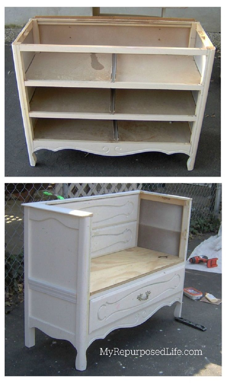 Clever Ways To Repurpose An Old Dresser