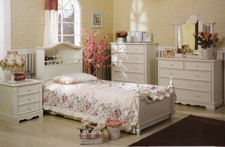 camere-da-letto-country-mobili-colore-bianco | INTERIOR DESIGN ...