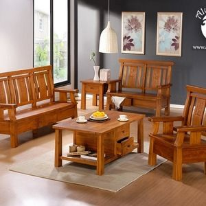 Source Teak Wood Sofa Set Design For Living Room Living Room Furniture Design On M Alibaba Com Wood Sofa Wooden Sofa Designs Sofa Set Designs
