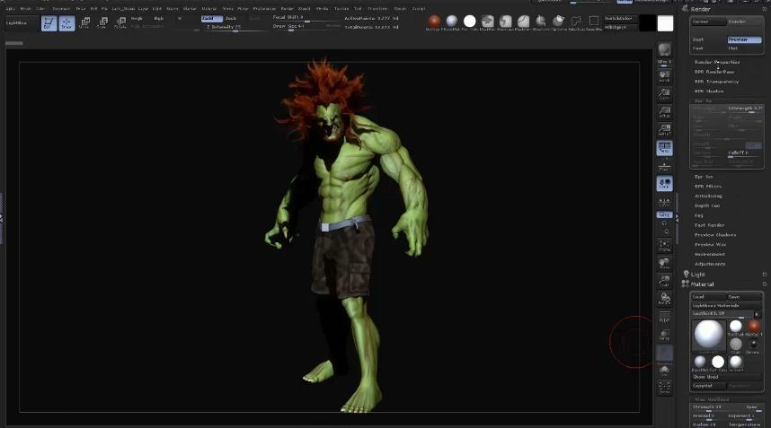 Learn how touse zbrush to create render passes and compose them together in photoshop wit this video tutorial by Leo Haslam https://vimeo.com/74370012
