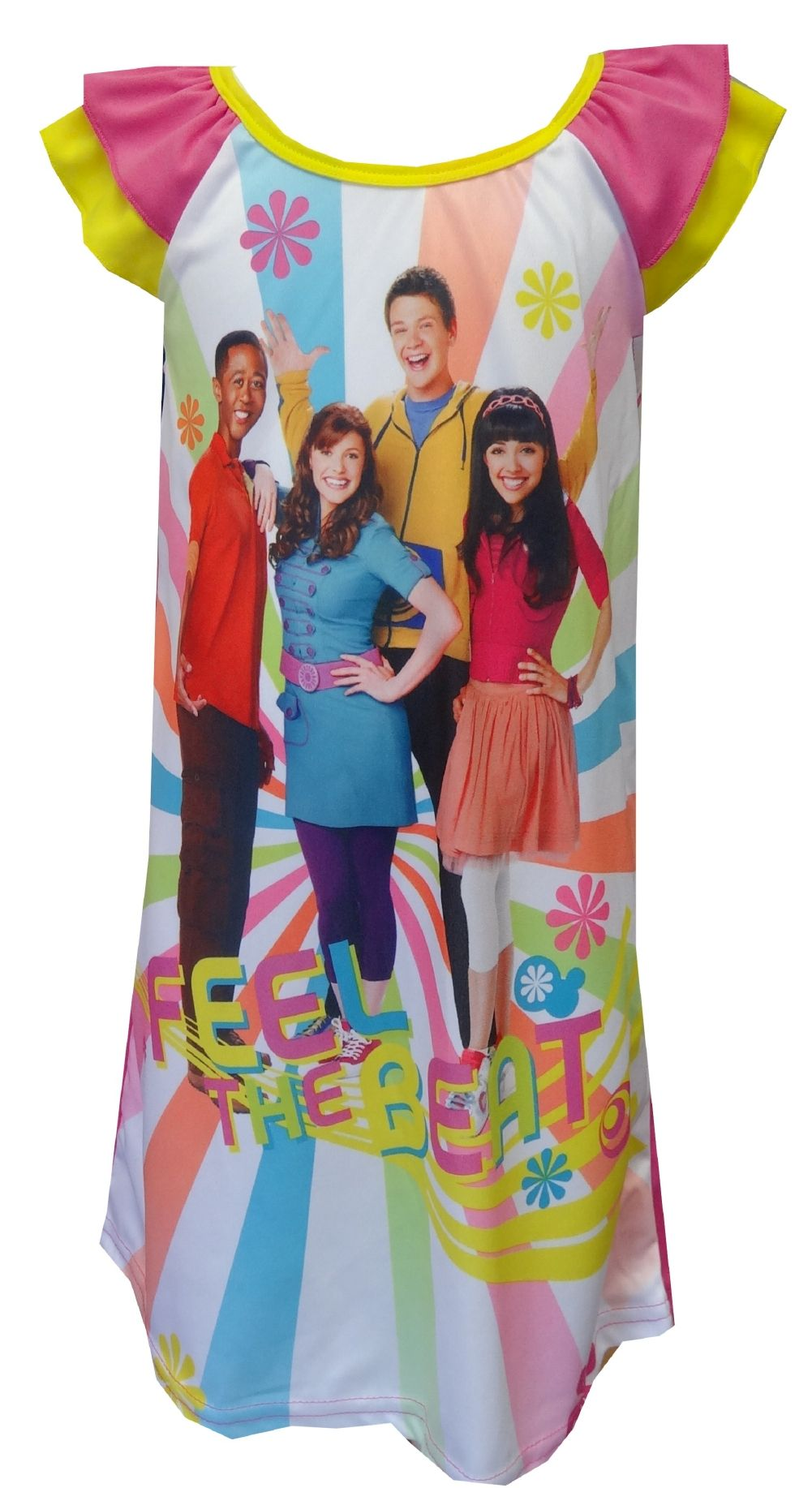 Nickelodeon Fresh Beat Band Toddler Nightgown Your little one will ...