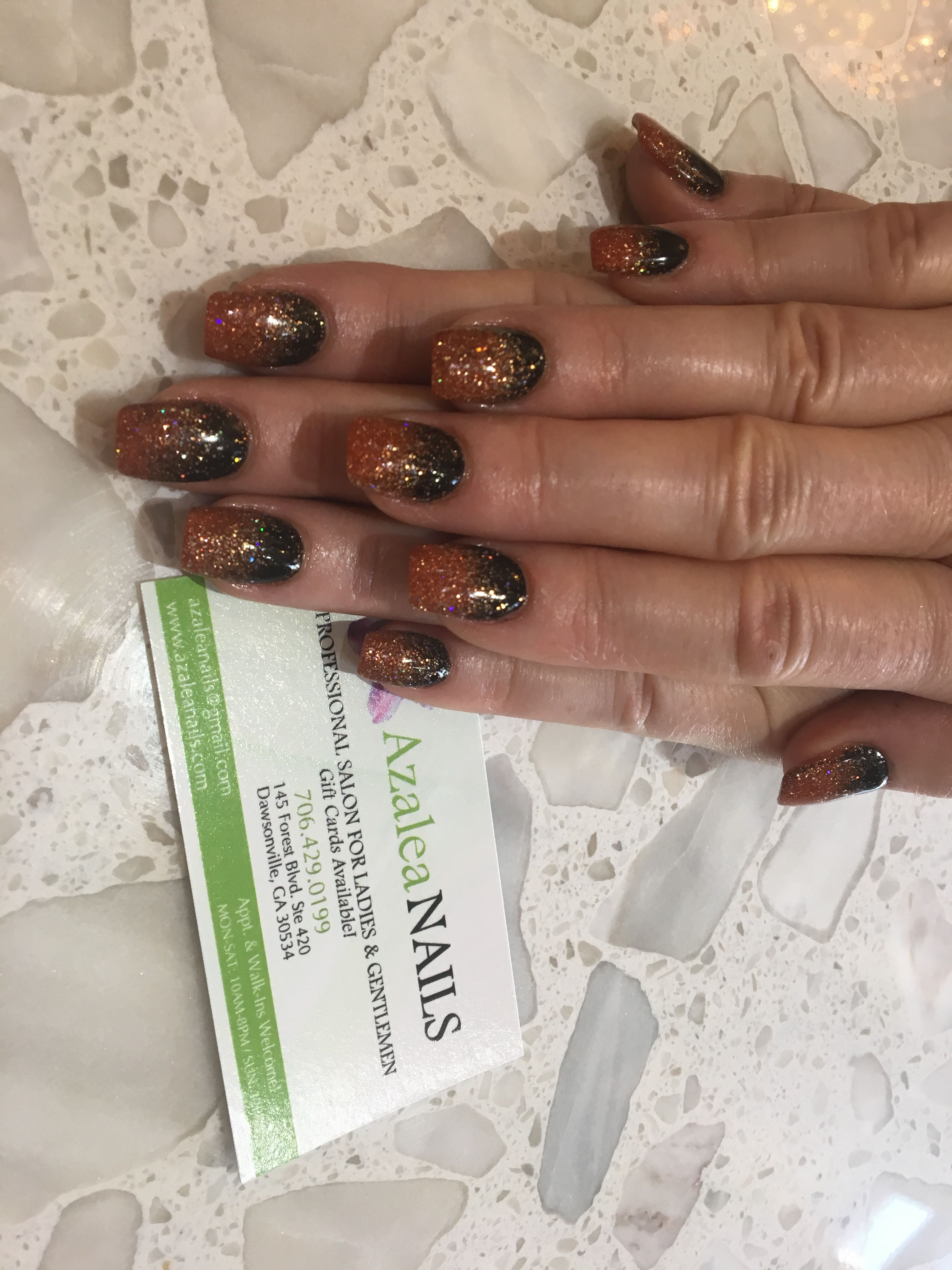 SNS Halloween nails | My nails, Sns nails, Nails