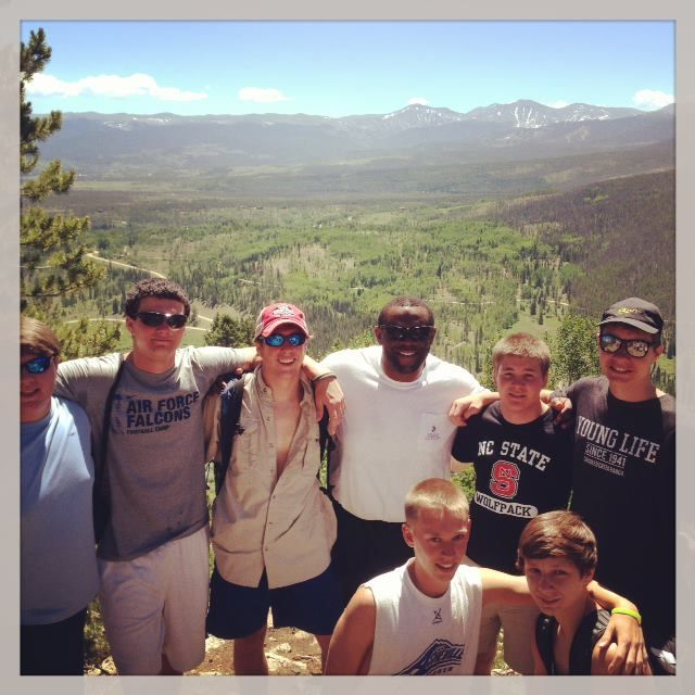 This #summer, our #Greenies are scattered all over the globe - but one group of students sent in a photo from their adventures at camp with #YoungLife in #Colorado. Looks like a great view!
